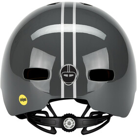 Nutcase Street MIPS Helm suit and tie stripe matte reflective